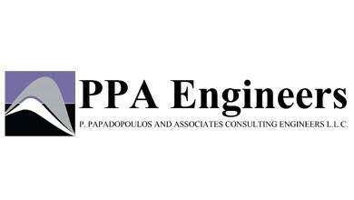 Civil Engineers P Papadopoulos Logo