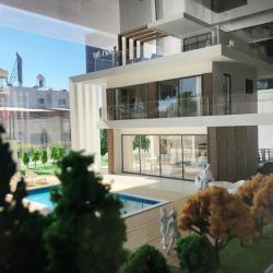 Architectural Model Of A Residental Villa In Protaras