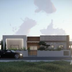 Architecrutal Design Of A Private Residence In Ypsonas
